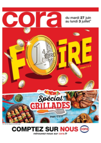 Prospectus Cora ARCUEIL : Foire 1€