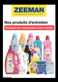 Prospectus Zeeman Amiens : Nos produits d'entretien. Essayez-les maintenant à prix réduit