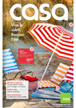 Prospectus Casa : Vive le soleil, Bonjour l'été