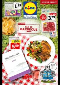 Prospectus Lidl CLICHY 122 avenue du Général Leclerc : Sélection fan de barbecue