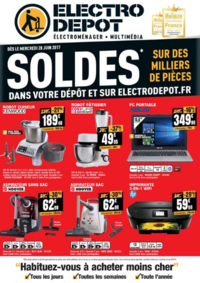 Prospectus ELECTRO DEPOT COIGNIERES : Soldes !