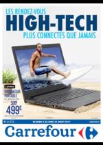 Prospectus Carrefour : Les rendez-vous high-tech