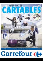 Prospectus Carrefour : L'hyper choix de cartables avec Kids United