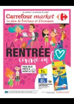 Prospectus Carrefour Market : La rentrée comme on l'aime