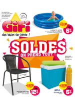 Prospectus Gifi : Soldes, on prend tout !
