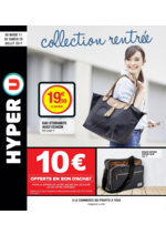 Prospectus Hyper U : Collection rentrée