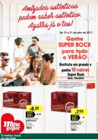 Folhetos Meu Super Vendas Novas : Ganhe Super Bock para todo o verão