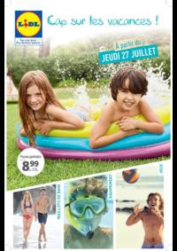 Prospectus Lidl VILLEJUIF : Cap sur les vacances !