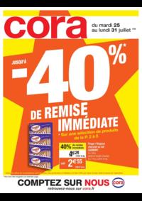 Prospectus Cora LIVRY-GARGAN : Jusqu'à -40% de remise immédiate