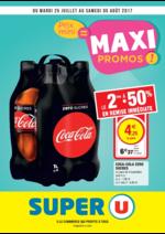 Prospectus Super U : Prix mini = maxi promos !