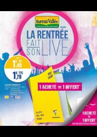 Prospectus Bureau Vallée - Montrouge : La rentrée fait son live II