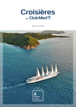 Catalogues et collections  : Croisières by Club Med