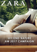 Catálogos e Coleções ZARA HOME : Second Nature - AW 2017 Campaign