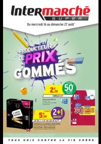 Prospectus Intermarché Super Bondy : Producteurs de prix gommés
