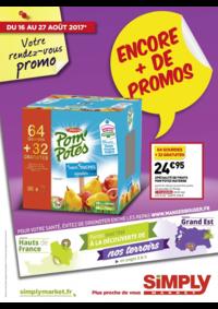 Prospectus Simply Market NEUILLY SUR MARNE : Encore + de promos