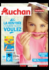 Prospectus Auchan Val d'Europe Marne-la-Vallée : La rentrée comme vous voulez