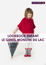 Catalogues et collections Sergent Major : Lookbook Enfant : Le gentil monstre du lac