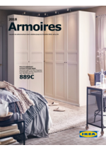 Catalogues et collections  : Catalogue Armoires 2018