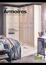 Promos et remises  : Catalogue Armoires 2018