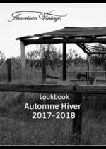 Catalogues et collections American Vintage : Lookbook automne hiver 2017-2018