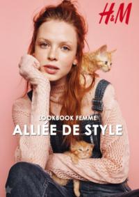Catalogues et collections H&M Namur : Lookbook femme Alliée de style