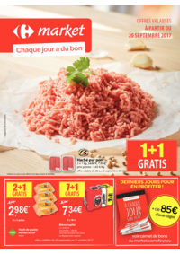 Prospectus Carrefour Market SPY : Chaque jour a du bon