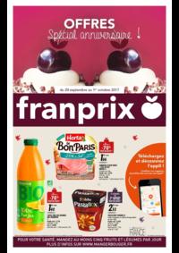 Prospectus Franprix PARIS 16 rue Bertin-Poirée : Offres spécial anniversaire !