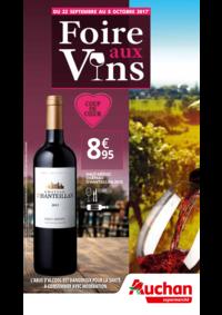 Prospectus Auchan Supermarché Paris 12 Reuilly : Foire aux vins