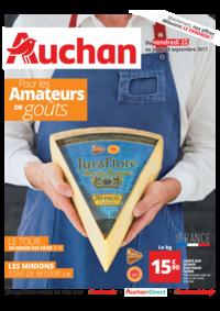 Prospectus Auchan Val d'Europe Marne-la-Vallée : Pour les amateurs de goûts