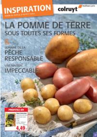 Prospectus Colruyt ANDERLECHT - VEEWEYDE : La pomme de terre sous toutes ces formes