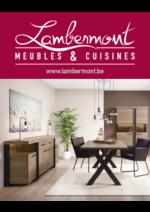 Prospectus  : Meubles et cuisines Lambermont