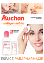 Prospectus Auchan : Les indispensables de l'automne