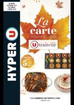 Menus Hyper U : La carte traiteur Automne Hiver