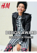 Promos et remises  : Lookbook femme H&M Design award