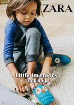 Catálogos e Coleções ZARA HOME : Lookbook Little inventors