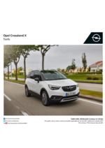 Catalogues et collections opel : Opel Crossland X