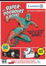 Prospectus E.Leclerc : Les super-pouvoirs d'achat