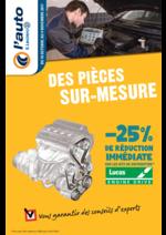 Prospectus L'auto E.Leclerc : Des pièces sur-mesure