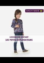 Promos et remises  : Lookbook enfant Les petits explorateurs