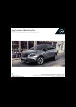 Tarifs opel : Opel Crossland X Business Édition