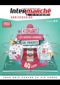 Prospectus Intermarché Hyper REDON : Les 4 semaines les moins chères de France. Semaine 4