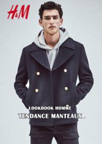 Catalogues et collections H&M Montesson : Lookbook homme Tendance manteaux