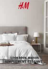 Catalogues et collections H&M Montesson : Lookbook maison Simplement élégant