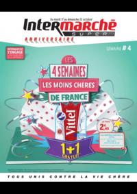 Prospectus Intermarché Super Argenteuil 7 rue du 8 Mai 1945 : Les 4 semaines les moins chères de France. Semaine 4