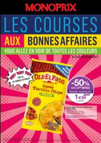 Prospectus Monoprix Conflans-Sainte-Honorine : Les courses aux bonnes affaires