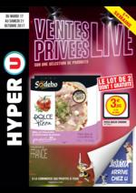 Prospectus Hyper U : Ventes privées