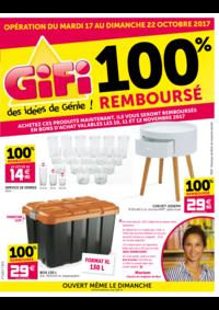 Prospectus Gifi SAVERNE : 100% remboursé