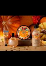 Catálogos e Coleções The Body Shop : Nova linha Vanilla Pumpkin