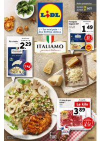 Prospectus Lidl CREUTZWALD : Italiamo passione italiana