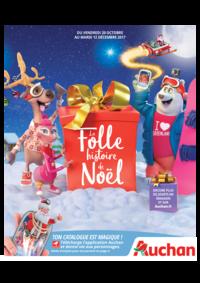 Catalogues et collections Auchan PUTEAUX : La folle histoire de Noël